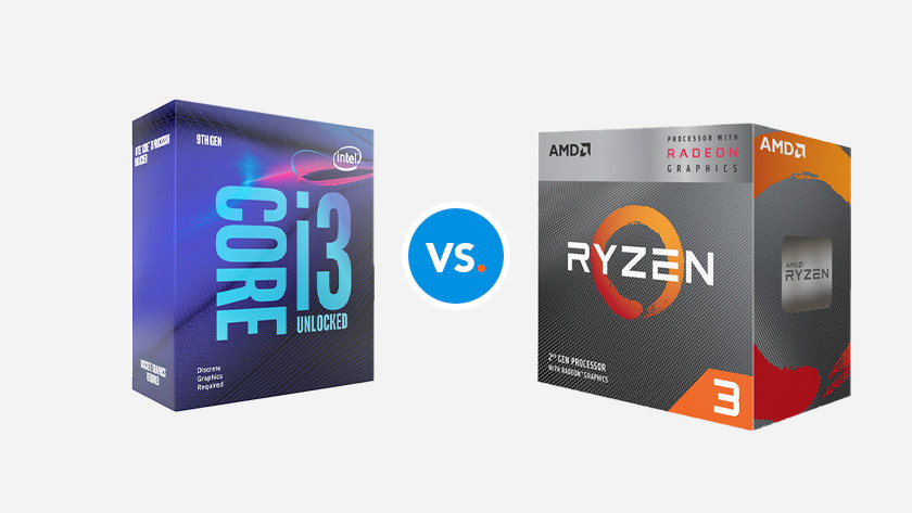 Intel Core i3 processor vs AMD Ryzen 3 CPU