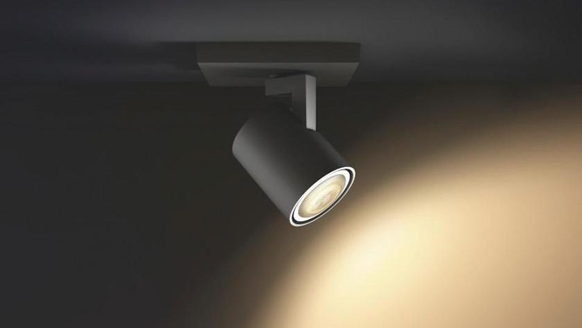 determine the light intensity for the lamp