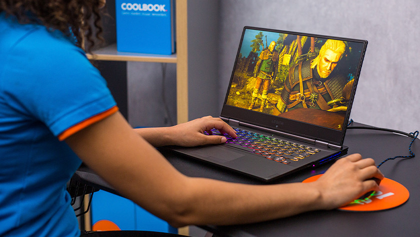 Gaming laptop.