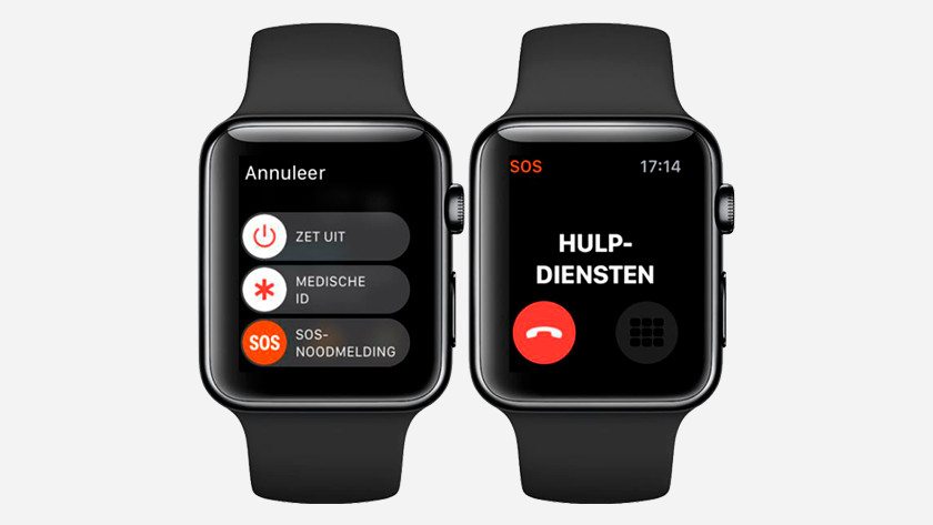 Situation d'urgence SOS Apple Watch