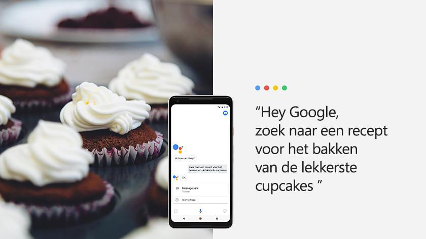 Google Assistent als hulp in het huishouden
