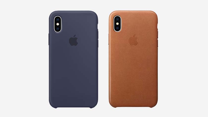 Apple Back Covers en silicone ou en cuir
