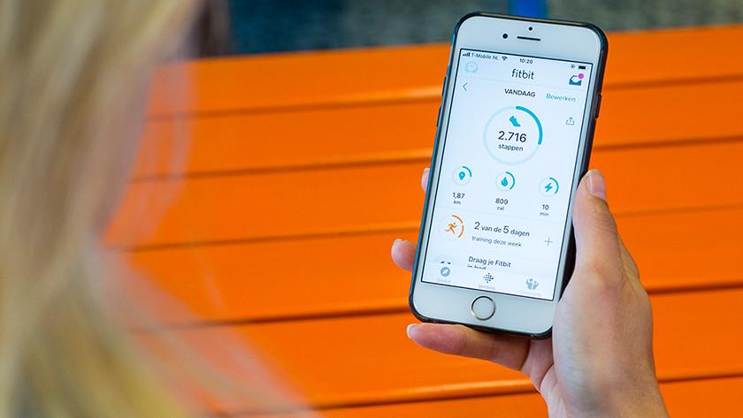 Fitbit Inspire HR stappenteller