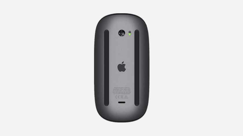 Le dessous de l'Apple Magic Mouse 2