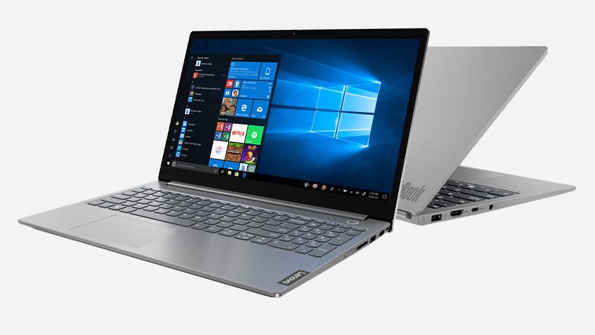 Lenovo ThinkBook laptop.