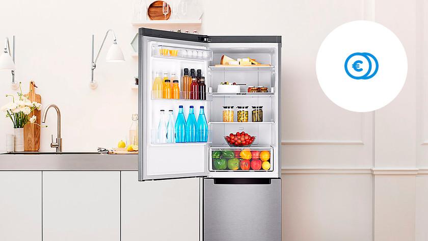 Économies A+ réfrigérateur combiné