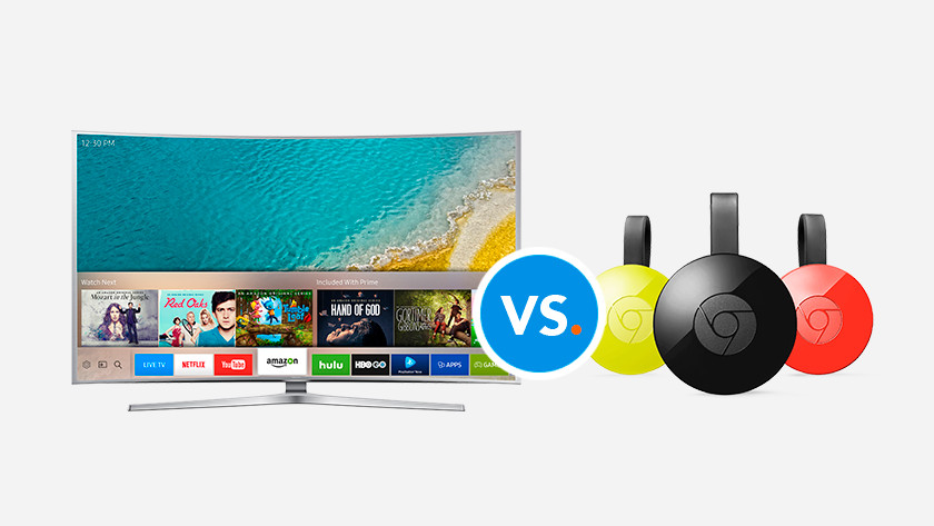 These are the differences between a smart TV and Chromecast