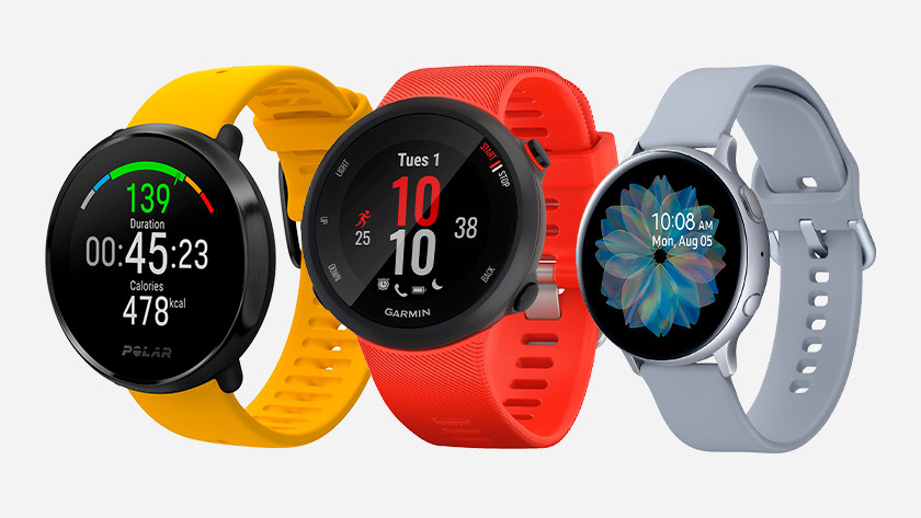Smartwatches with GPS