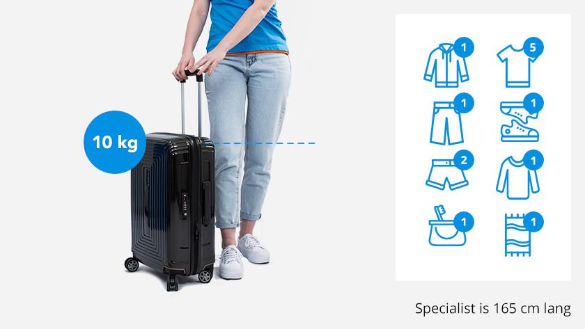 énorme réduction 73743 a0887 Quelle taille doit faire ma valise ? - Coolblue - avant 23 ...