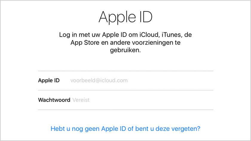 Définir Apple ID