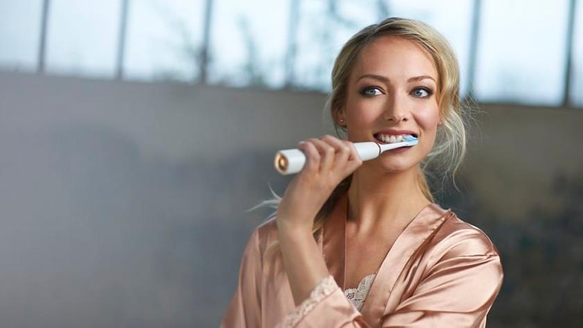 Het gebruiksgemak van een sonische tandenborstel