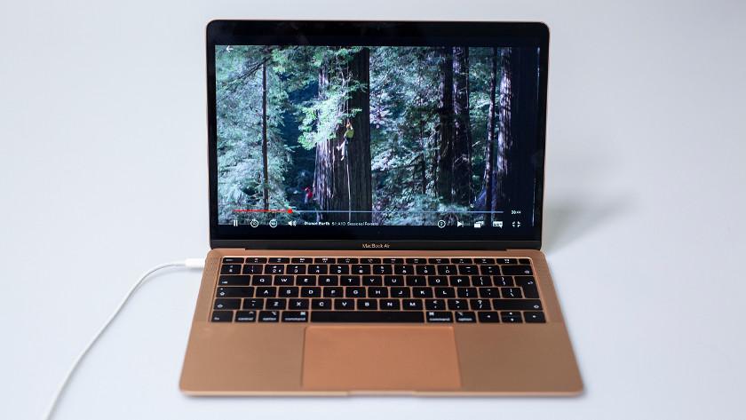 Netflix op MacBook Air.