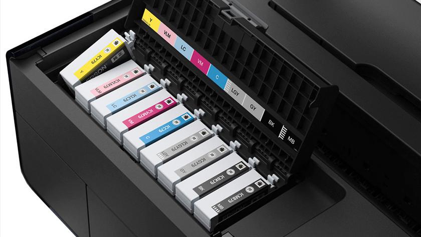 cartouches dans l'imprimante