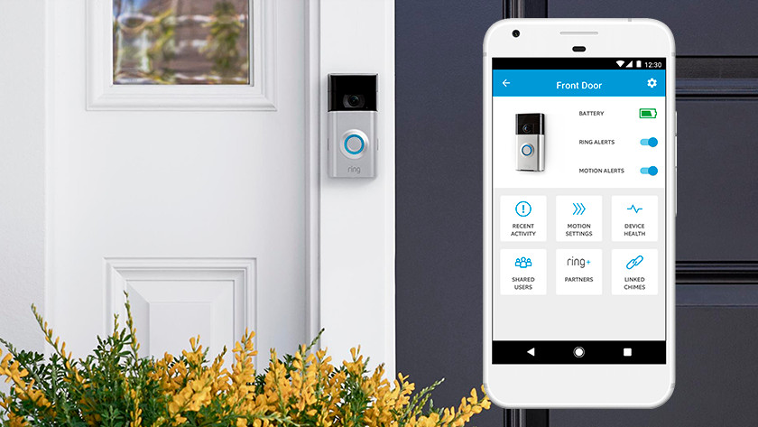 How does a smart doorbell work?