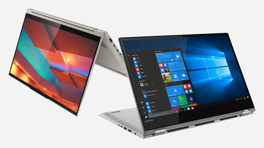 Lenovo Yoga laptop.