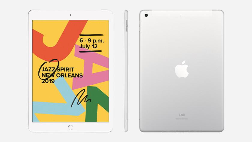 iPad 2019 voorkant achterkant zijkant