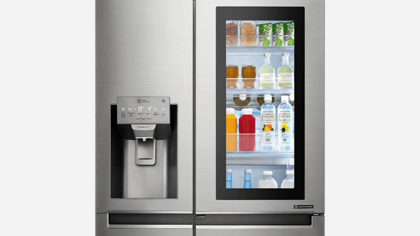 Slimme koelkast (instaview)