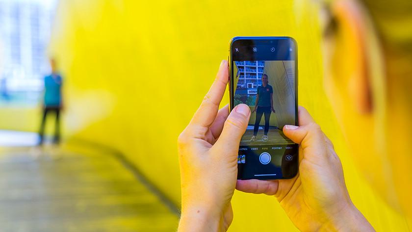 Zoomen met iPhone