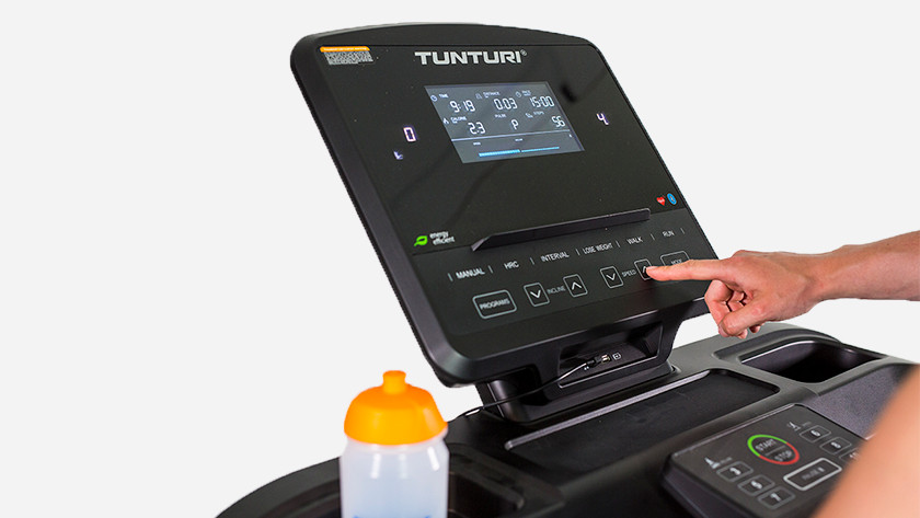 Endurance training on treadmill