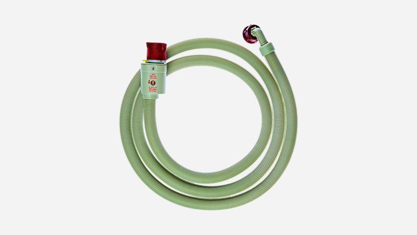 Supply hose with safety system