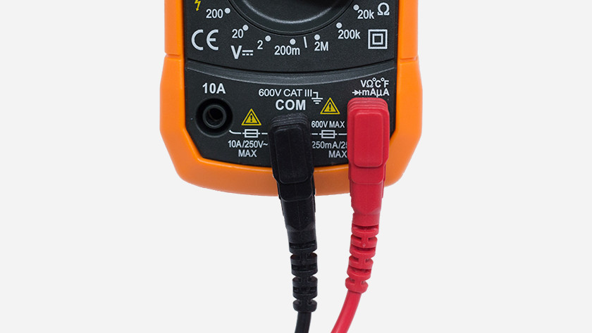 Cables in multimeter
