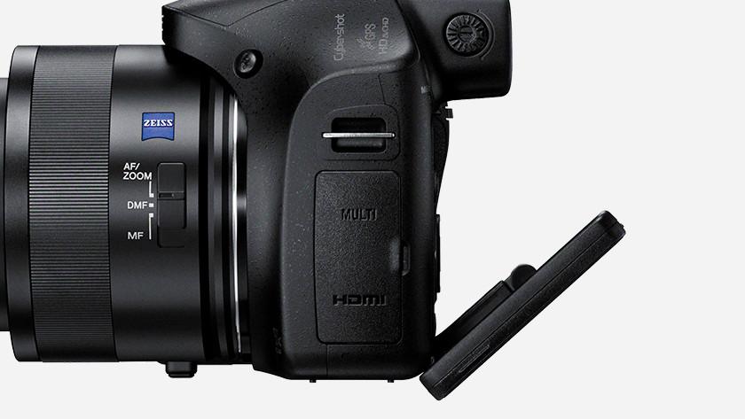 Kantelbaar scherm Sony CyberShot DSC-HX400V