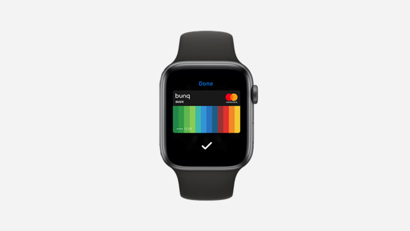 Apple Pay op Apple Watch