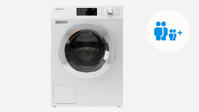 Washing machine for a family with more than 2 children