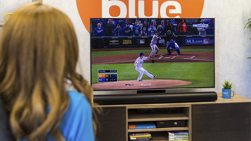 Sportwedstrijd kijken met Sonos Arc