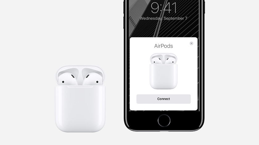 Connnecting Apple AirPods