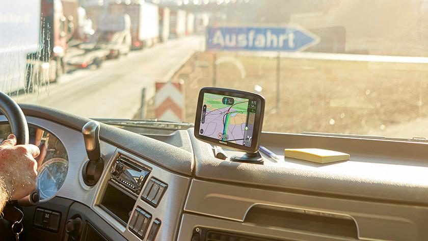 Truck navigation system