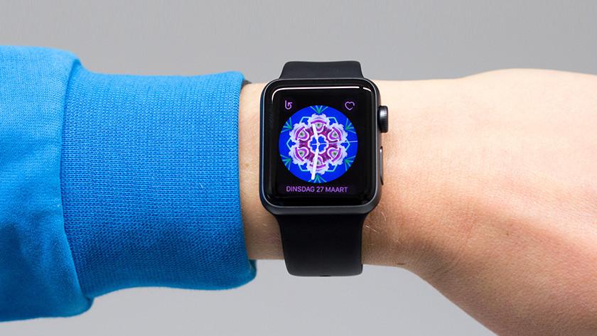 De wijzerplaat op Apple Watch 3 aanpassen