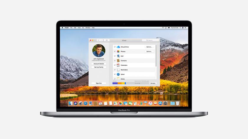 MacOS sur MacBook