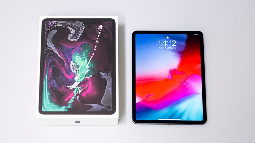 Packaging iPad Pro (2018)