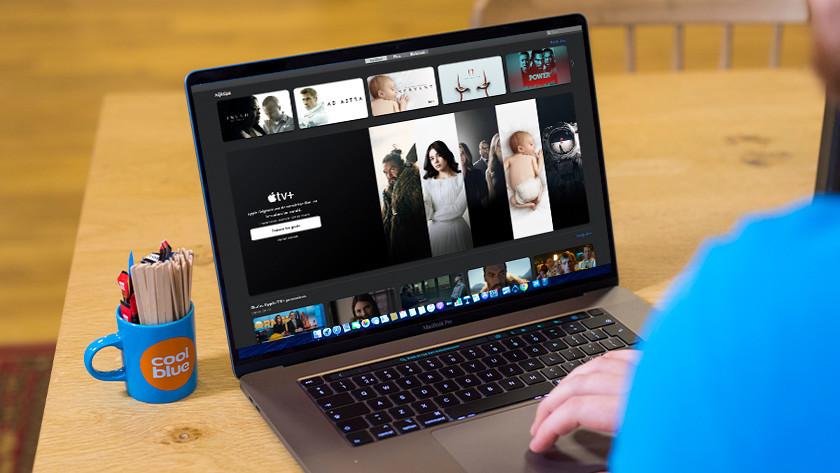 Apple TV+ op Apple MacBook
