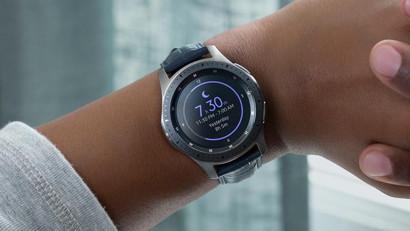 Samsung Galaxy Watch cardiofréquencemètre mesurer le sommeil