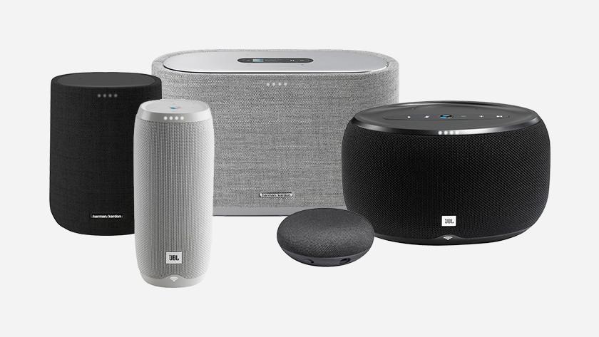 Verschillende wifi speakers