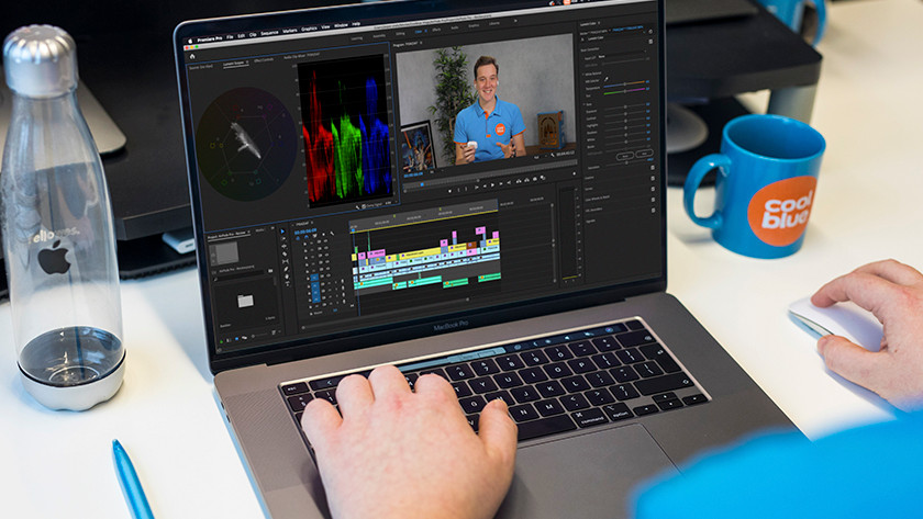 Apple MacBook voor professionele foto- en videobewerking
