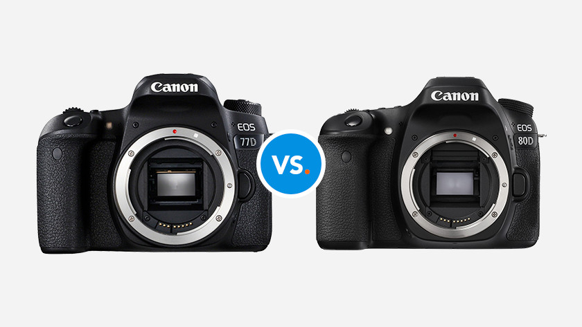 Canon camera's vergelijken