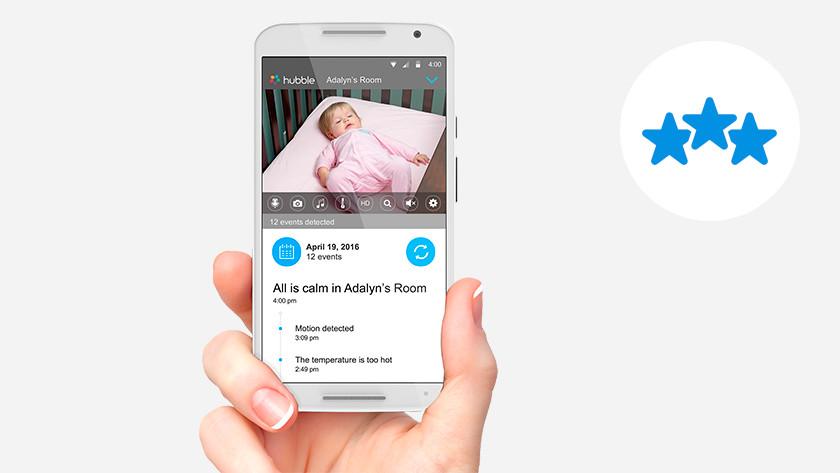 Wifi babyfoon met app