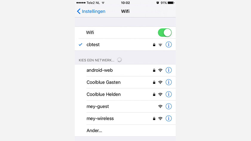 Make a WiFi connection