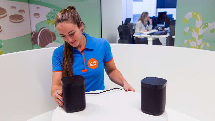 Select second multiroom speaker