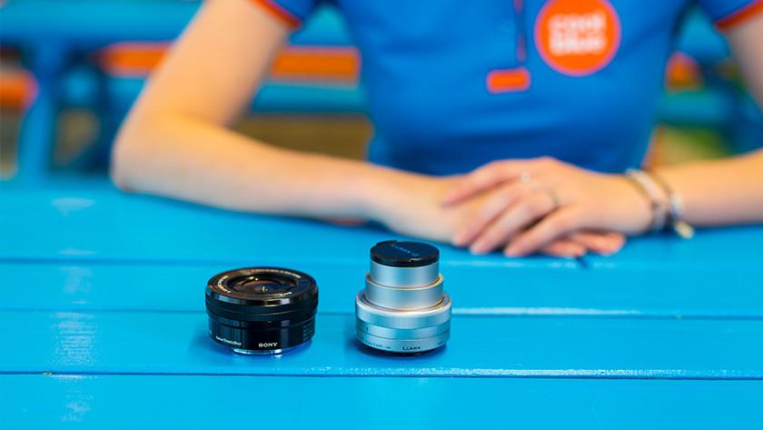 Objectifs pour appareils photo hybrides