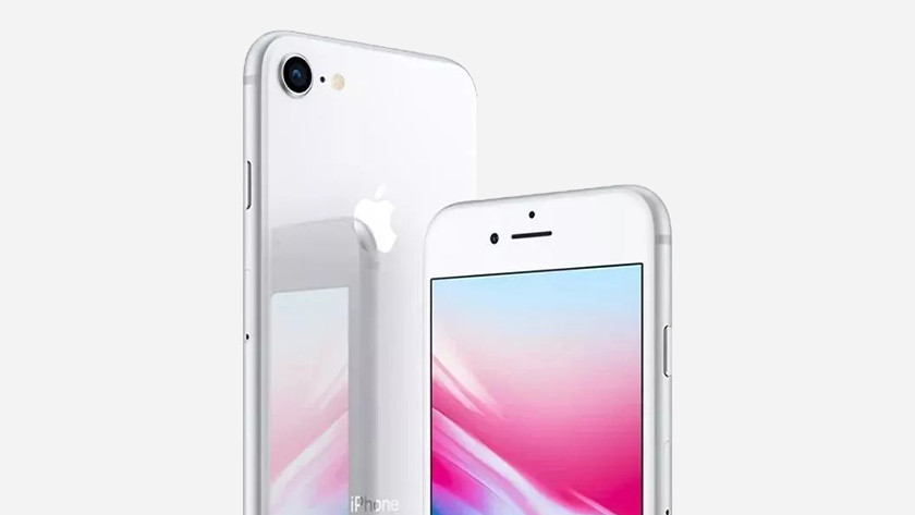 iPhone 8 zilver
