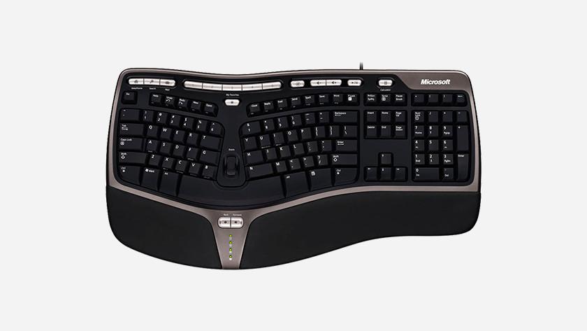 Ergonomisch toetsenbord met polssteun