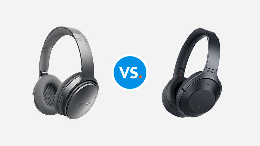 Comparing headphones
