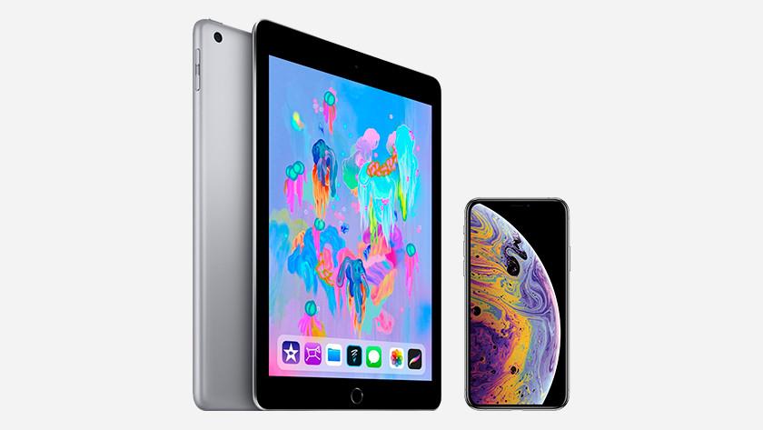 Schermtijd iPad en iPhone