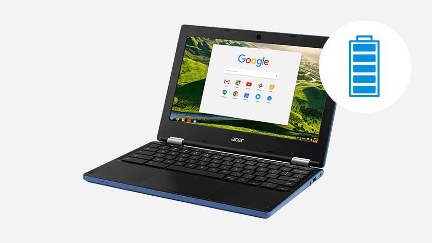 Vie de la batterie Chromebook.