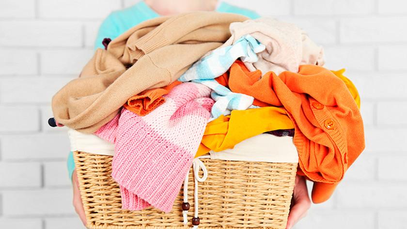 Full laundry basket