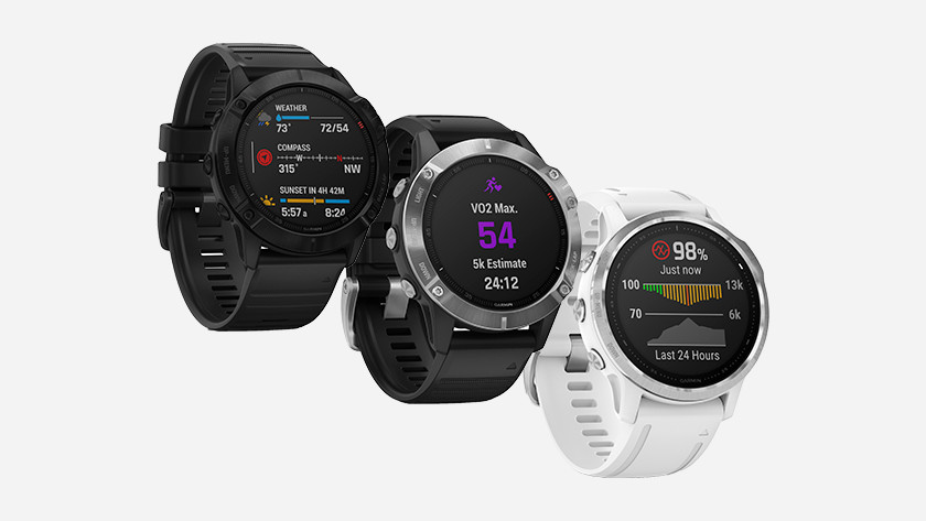 Formaat Garmin Fenix 6